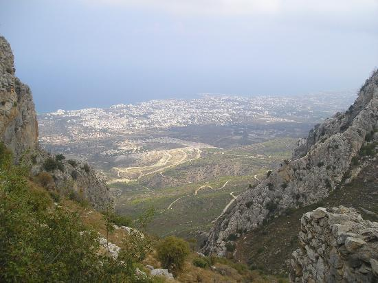 Almond Holiday Village: View from St Hilarion Castle, Kyrenia
