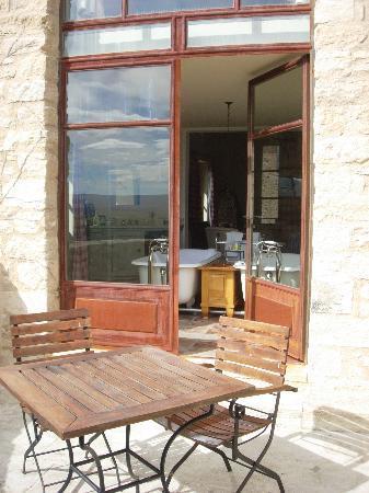 Hotel Crillon le Brave: The balcony