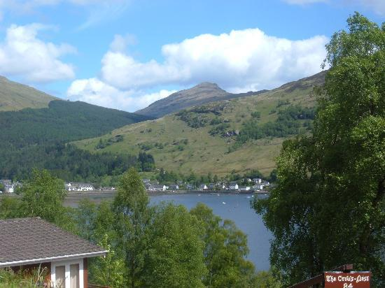 Drimsynie Estate Holiday Village: The views really are stunning!