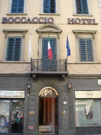 Hotel Boccaccio: Front of hotel