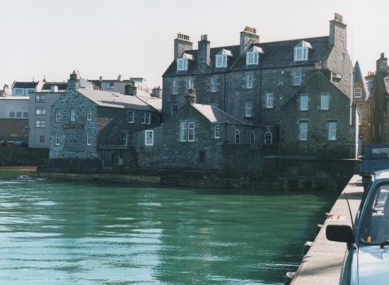 Lerwick, UK: View of Queens Hotel