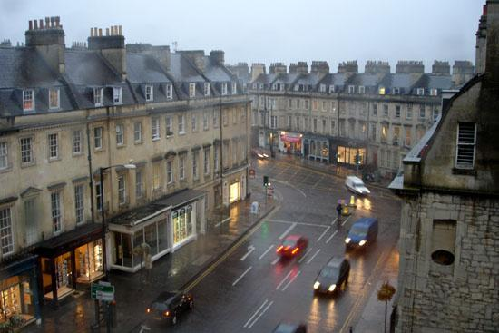Loch Fyne Milsoms Hotel: The view out onto George Street from the room