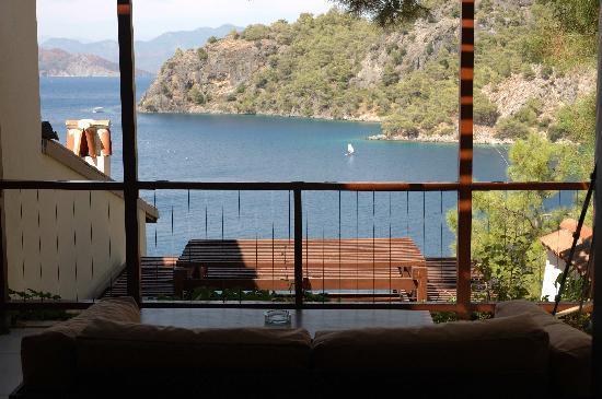 Hillside Beach Club: View from terrace