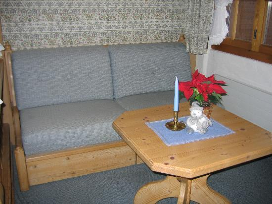 Hotel Le Grand Chalet: Sitting area