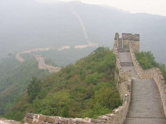 Gran Muralla China en Mutianyu: The Great Wall at Mutianyu