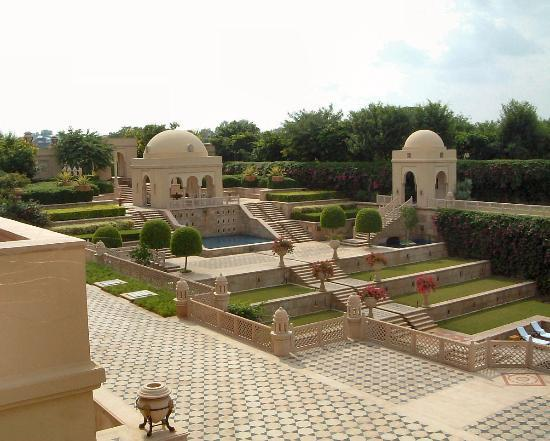 The Oberoi Amarvilas: View From our Suite Terrace