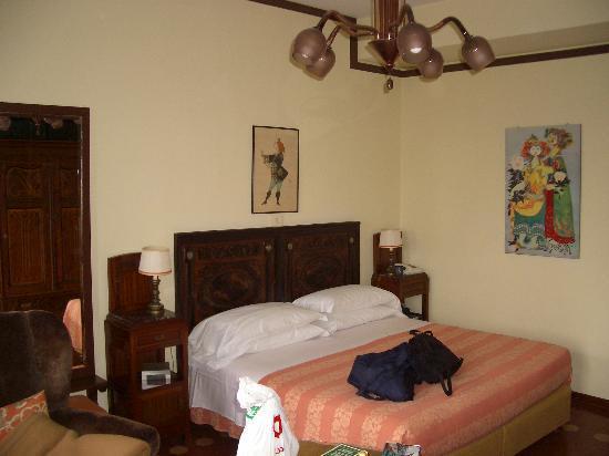Quattro Fontane Hotel: Our room