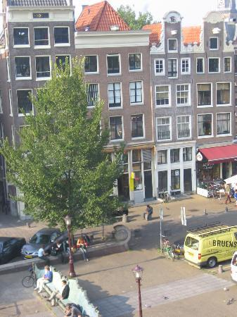 Amsterdam Escape: View from loft window