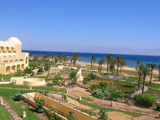Sofitel Taba Heights: sea view from balcony