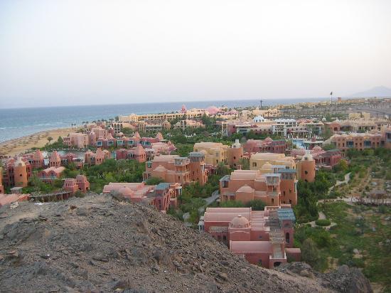 Sofitel Taba Heights : Hyatt,Sofitel and Marriot view point