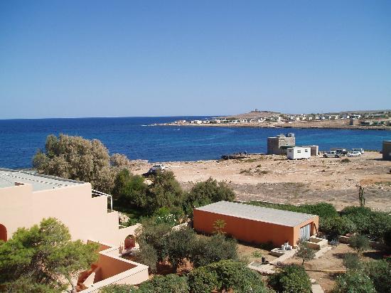 Ramla Bay Resort: Seaview from room.