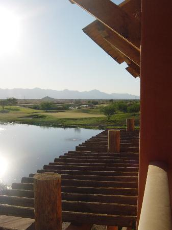 Sheraton Grand at Wild Horse Pass: View from our balcony