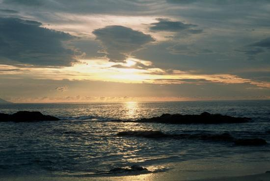 Quinta Maria Cortez: Sunset from the beach...