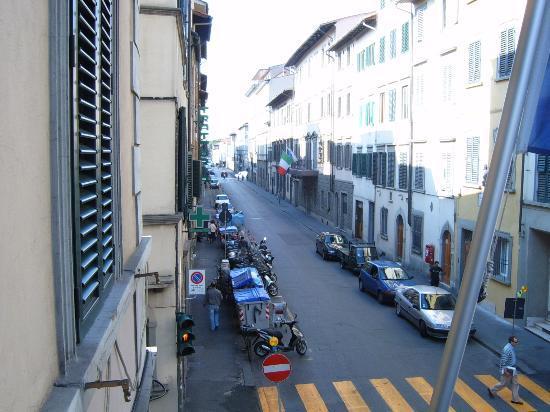 Hotel Boccaccio: Balcony