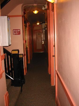 The Dakota Hotel: 8th Floor hallway at The Dakota