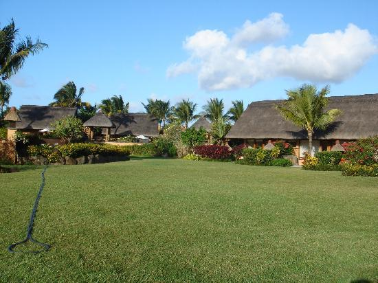 The Oberoi, Mauritius: view of our pavillon from the garden
