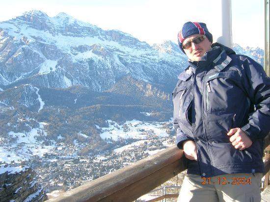 Miramonti Majestic Grand Hotel : View over Cortina