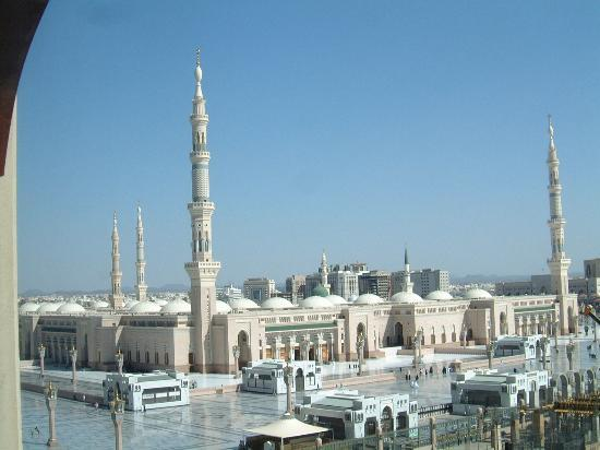 Elaf Taiba Hotel: View from our room