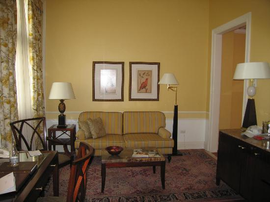 Belmond Copacabana Palace: Living room