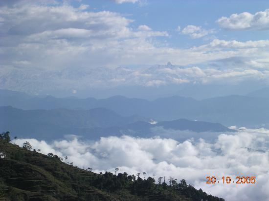 Club Himalaya Resort: View from the Resort