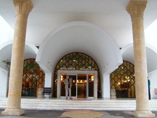 Hôtel Kanta: Entrance to Hotel Kanta