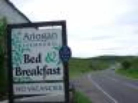 Ariogan Bed & Breakfast: Ariogan Welcome Sign
