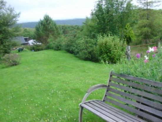 Ariogan Bed & Breakfast: Backgarden