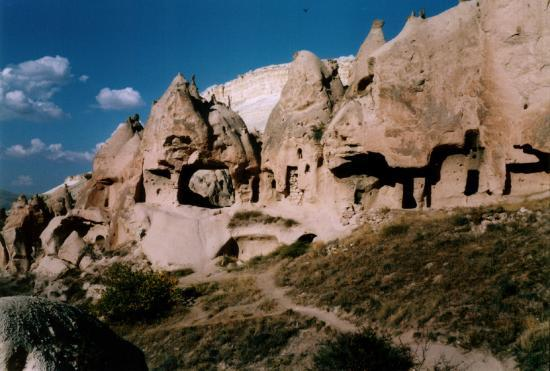 Goreme, Turki: beautiful chimneys