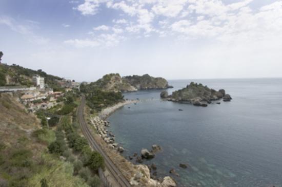 Hotel Villa Carlotta: Isola Bella, Taormina