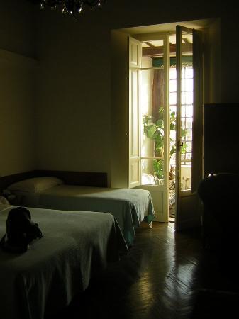 Anna Hotel: bedroom & sitting room