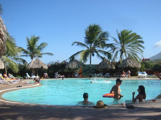 Flamenco Hotel Villas Beach Club Pool Area