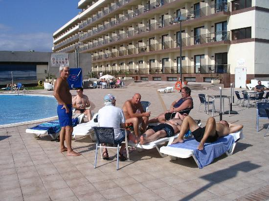VIK Gran Hotel Costa del Sol: The lads resting after playing golf