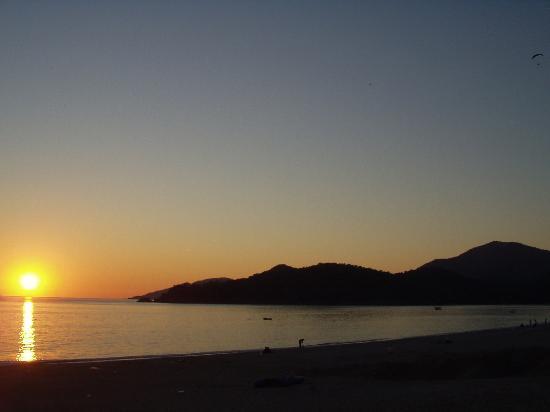 Club Belcekiz Beach Hotel: sunset