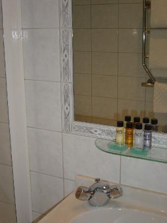 Hotel Diplomat: The bathroom
