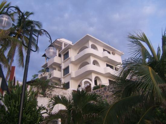 La Quinta de Don Andres: Vew of La Quinta from La Madera Beach