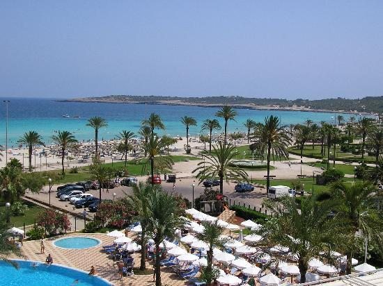 SENTIDO Castell de Mar: View from 4th Floor Room