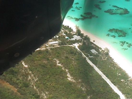Greenwood Beach Resort: Greenwood from the air