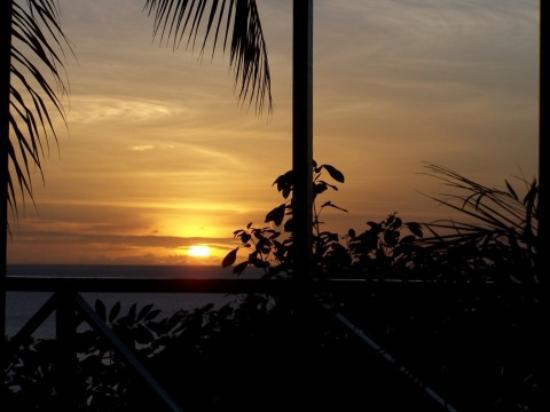 Anse Chastanet: The sunset on our last night