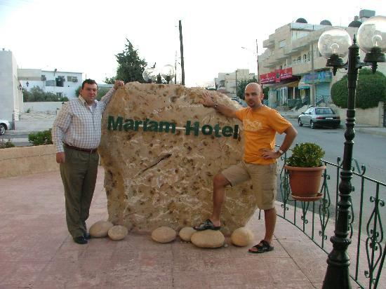 Mariam Hotel: Charlie and me