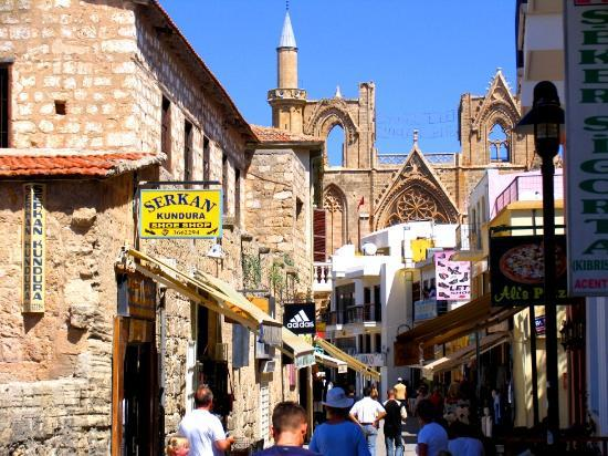 Arkin Palm Beach Hotel : Streets of Old  Famagusta