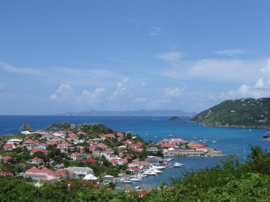Le Guanahani: View of Gustavia and harbor
