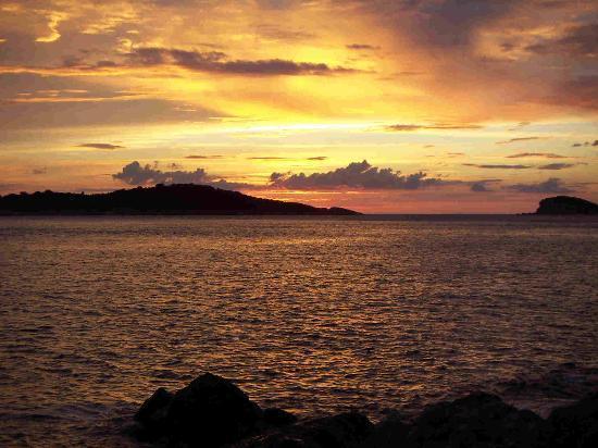 Hotel Croatia Cavtat: sunset