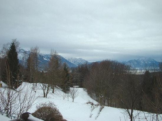 Romantik Gersberg Alm: Mountain view from the balcony