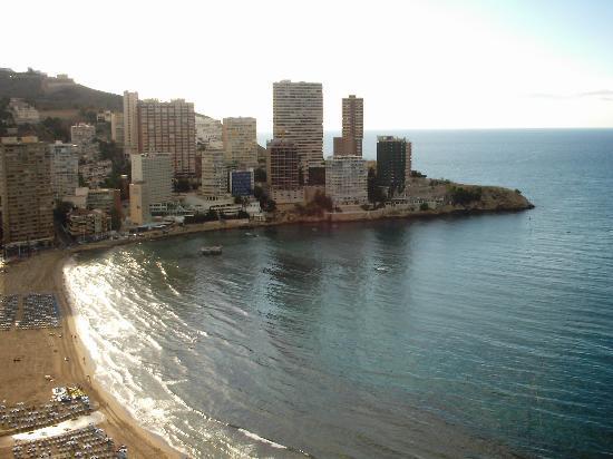 Torre Levante Apartments: View from Torre Levante, Benidorm