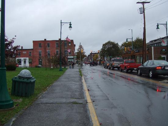 Rockland, ME, near Maine Eastern Railroad stop