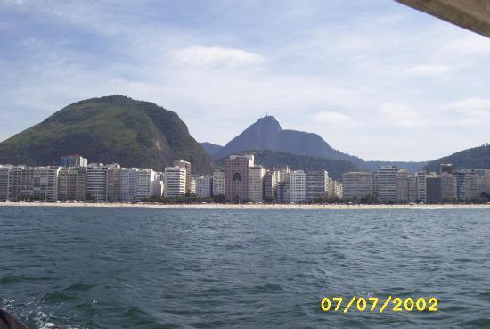 Rio de Janeiro, RJ: Copacabana Beach - different view