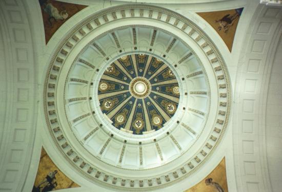 Museum of the Revolution (Museo de la Revolucion) : Ceiling dome in lobby
