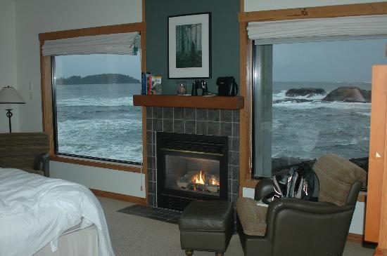 Wickaninnish Inn and The Pointe Restaurant: View from room