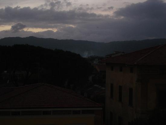 Grand Hotel Tamerici & Principe: View from balcony
