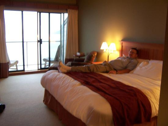 Long Beach Lodge Resort: Our bedroom